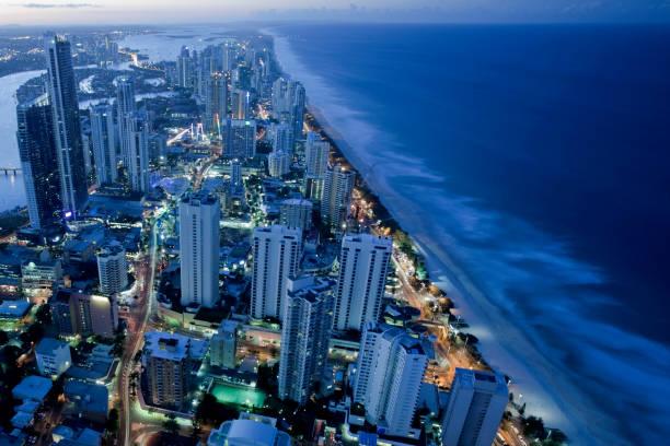 Gold Coast stock photo