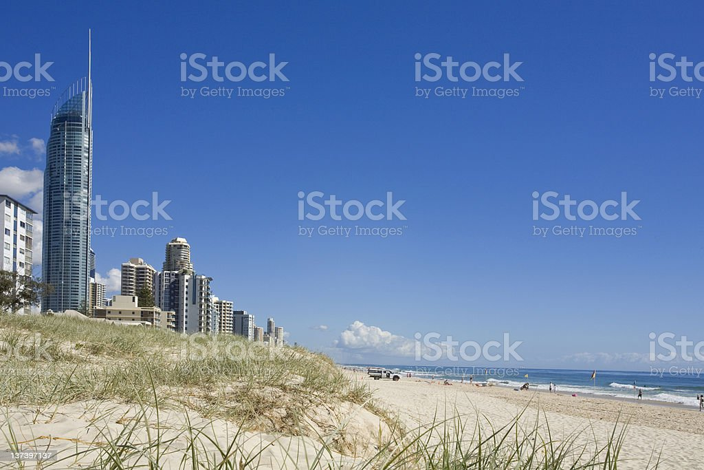 Gold Coast royalty-free stock photo