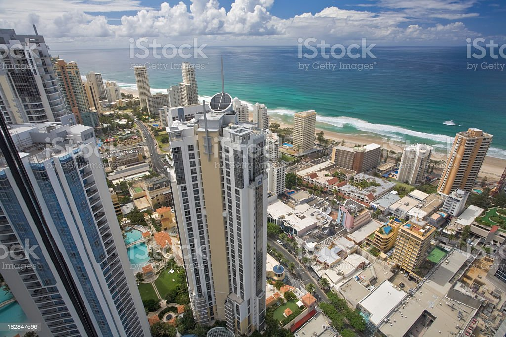 Gold Coast stock photo