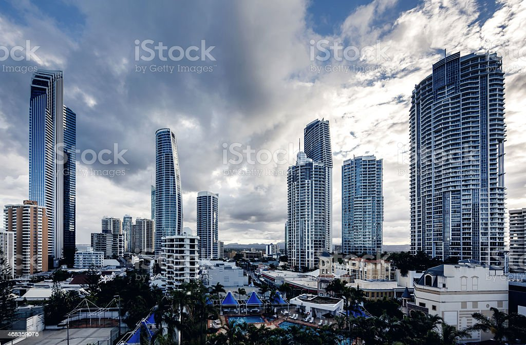 Gold Coast, Queensland, Australia royalty-free stock photo