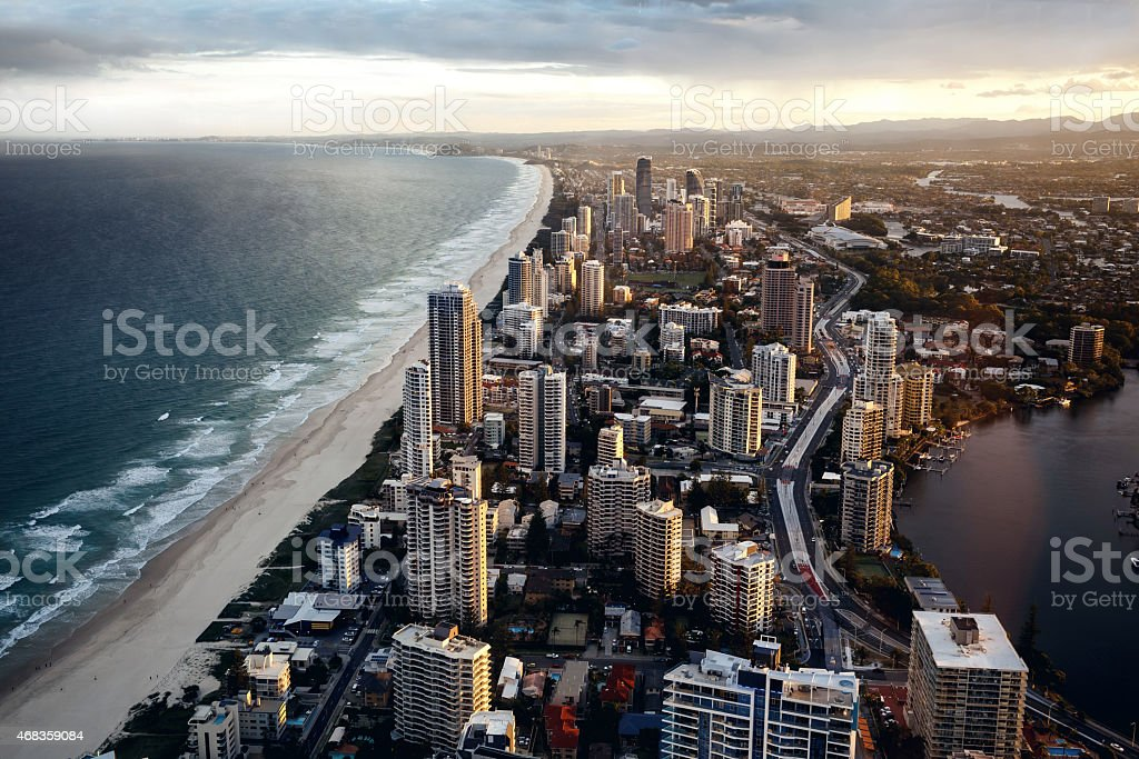 Gold Coast, Queensland, Australia royalty-free stock photo