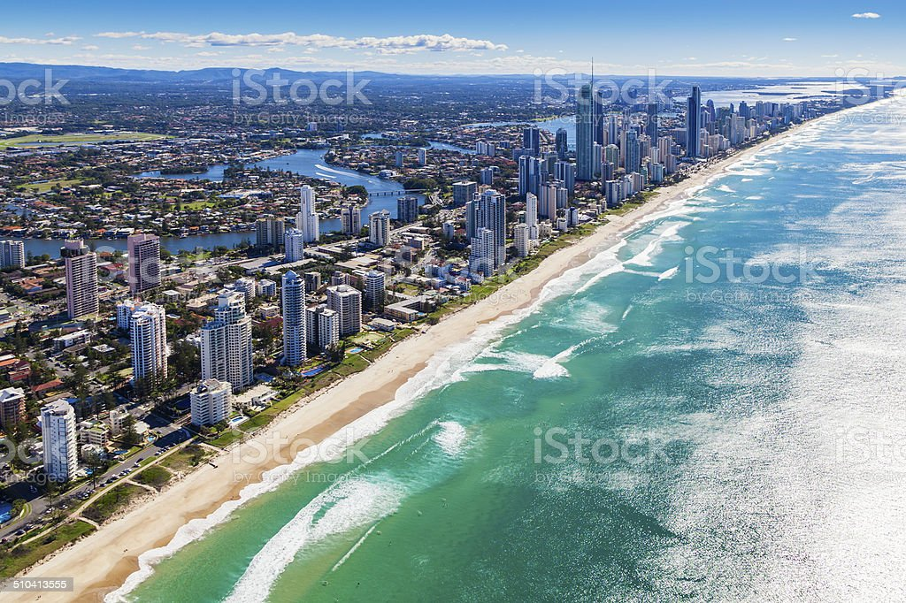 Gold Coast, Queensland, Australia stock photo