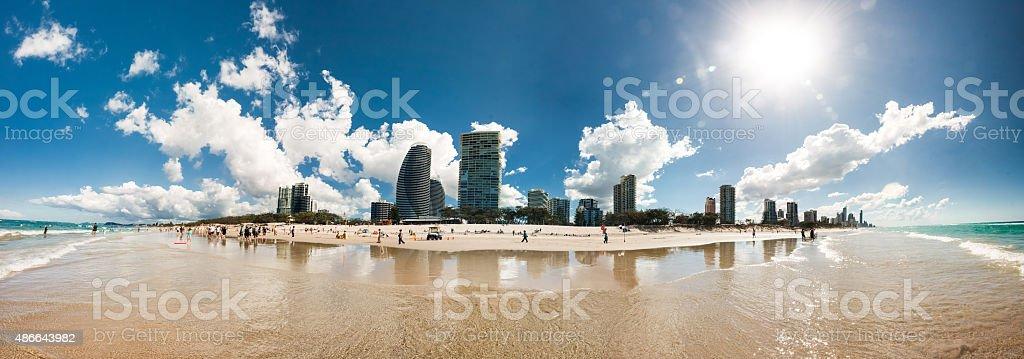 Gold Coast, Queensland stock photo