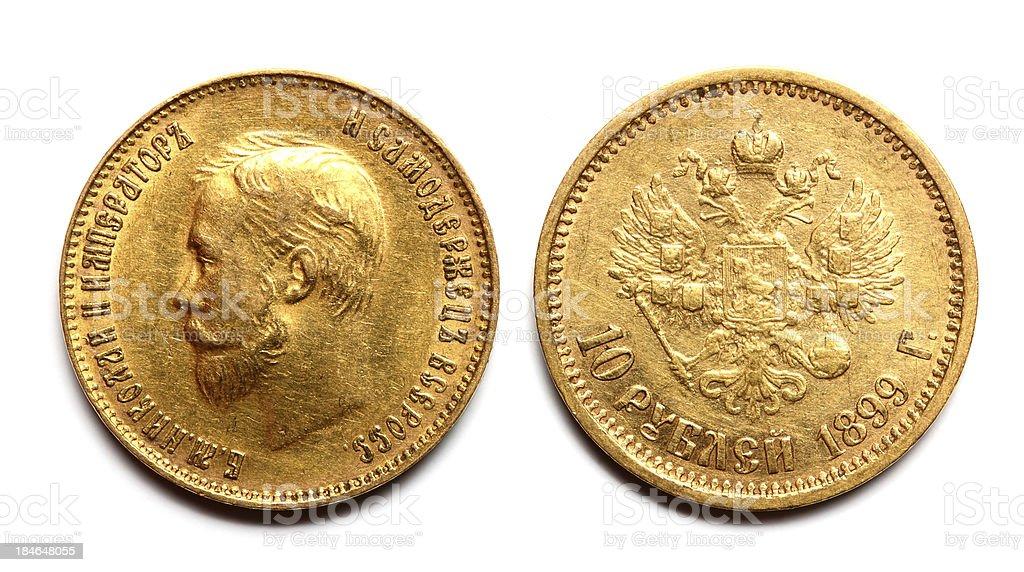 gold coin stock photo