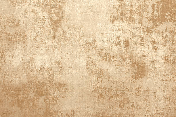 gold colored background texture - parşömen tekstil stok fotoğraflar ve resimler