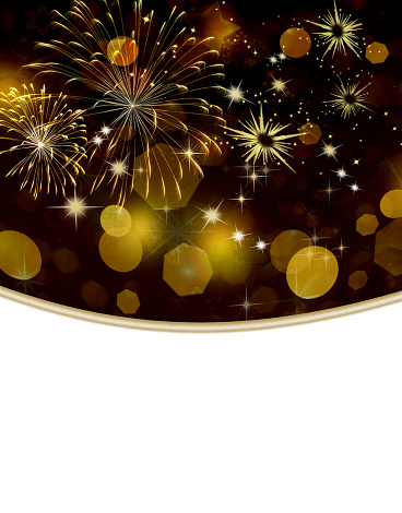 Gold colored holiday background