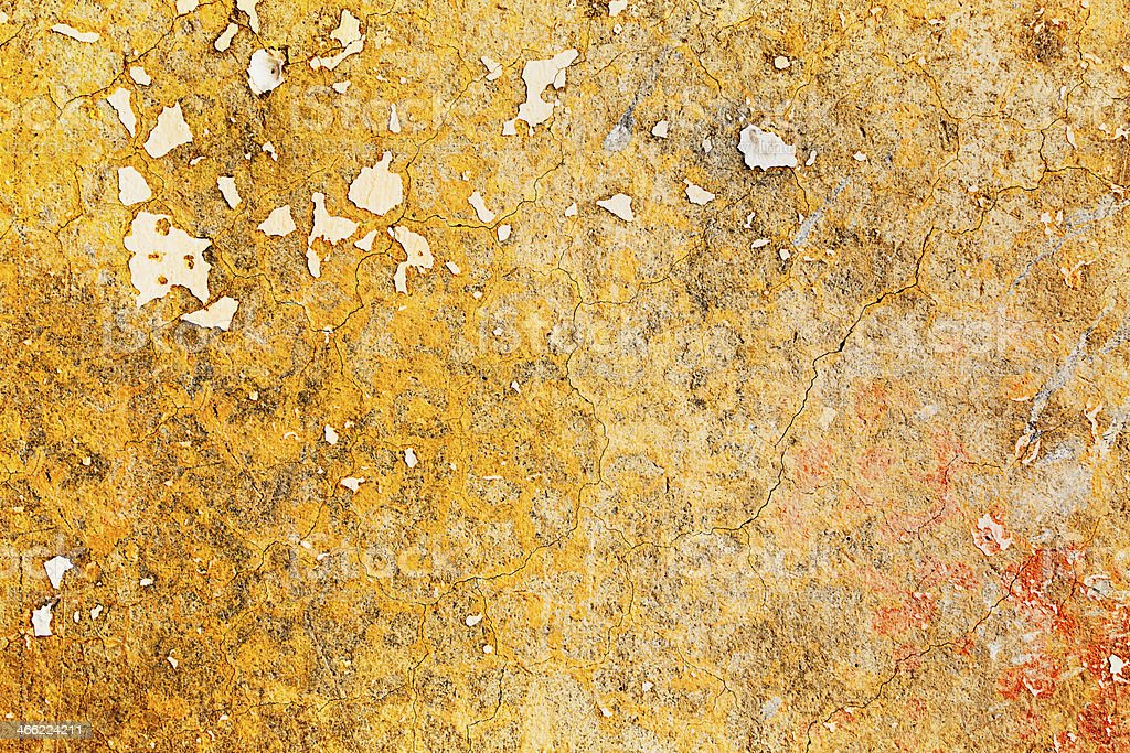 Gold colored wall texture royalty-free stock photo