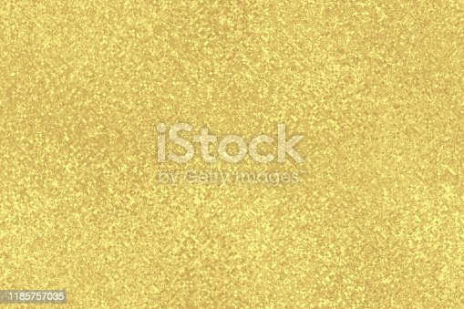 Gold Confetti Christmas Background Foil Pixel Mosaic Holiday Texture Tinsel Streamer Broken Gilded Digitally Generated Image Pattern Seamless