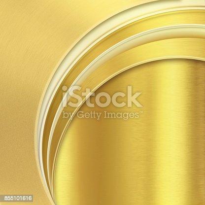 istock Gold corporate creative background 855101616