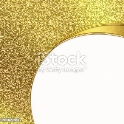 istock Gold corporate creative background 862023364