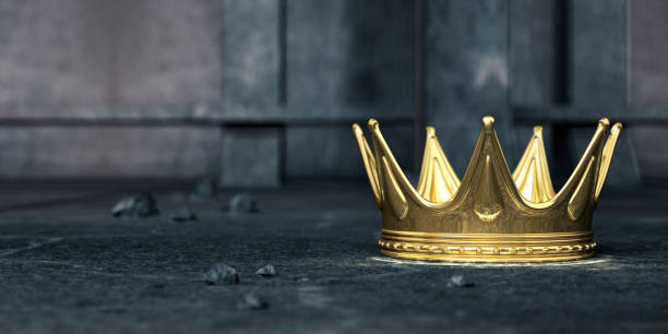 corona de oro - accesorio de cabeza fotografías e imágenes de stock