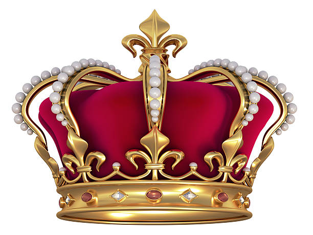 Gold crown with jewels  royalty stock pictures, royalty-free photos & images