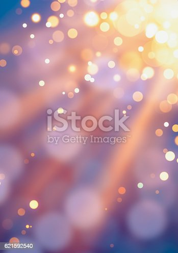 istock Gold defocused lights background 621592540