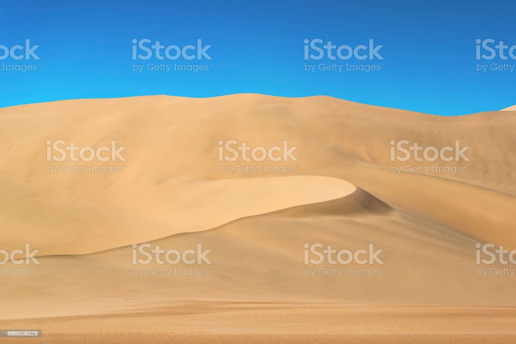 Gold desert stock photo