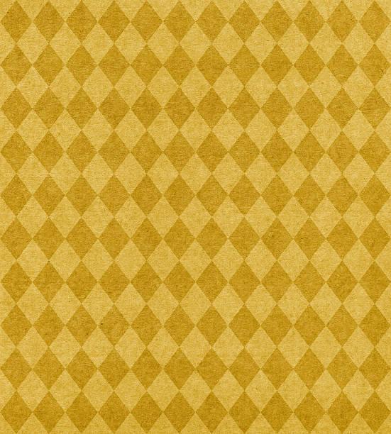 gold diamond-muster-papier - sammelalbum wandkunst stock-fotos und bilder