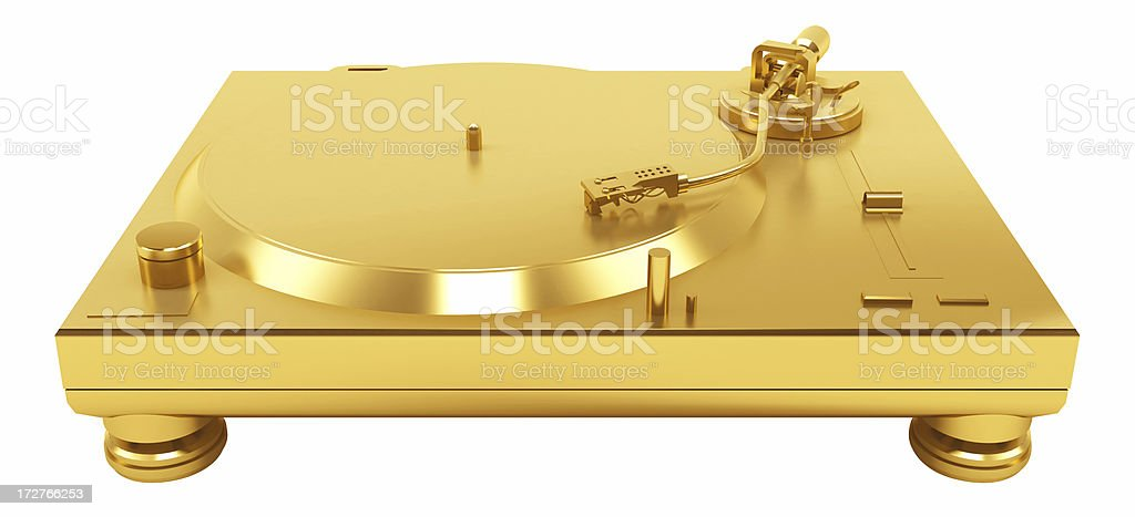 gold-dj-turntable-silver-picture-id17276