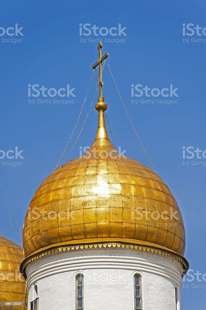 Gold dome royalty-free stock photo
