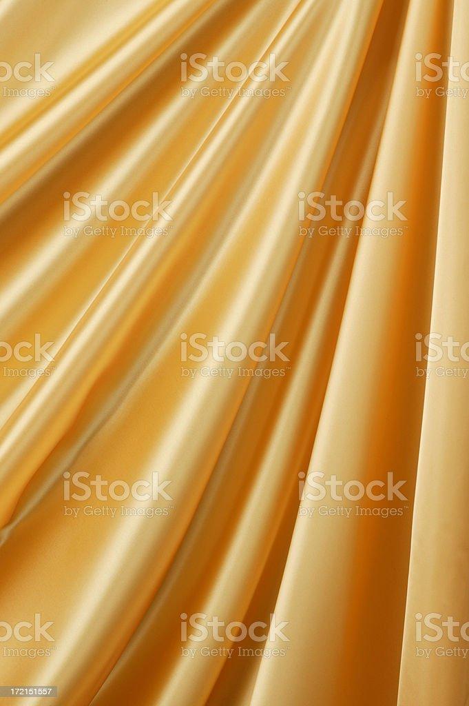 Gold Drape royalty-free stock photo