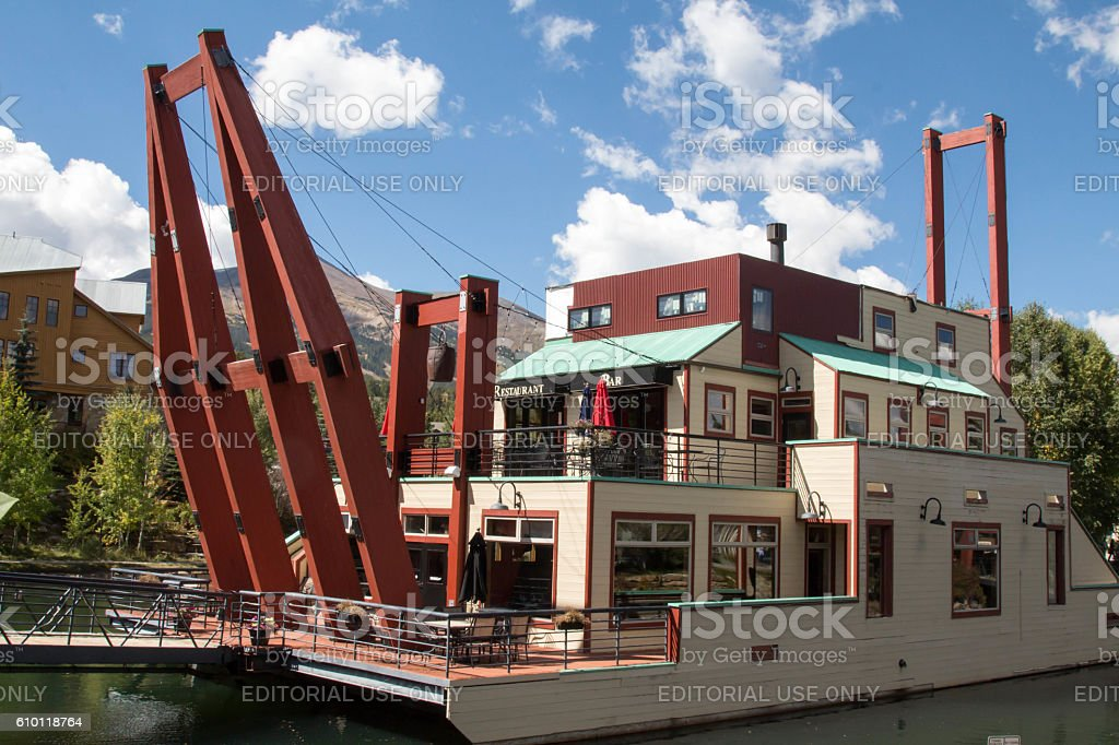 Gold Dredge Converted Into A Restaurant In Breckenridge