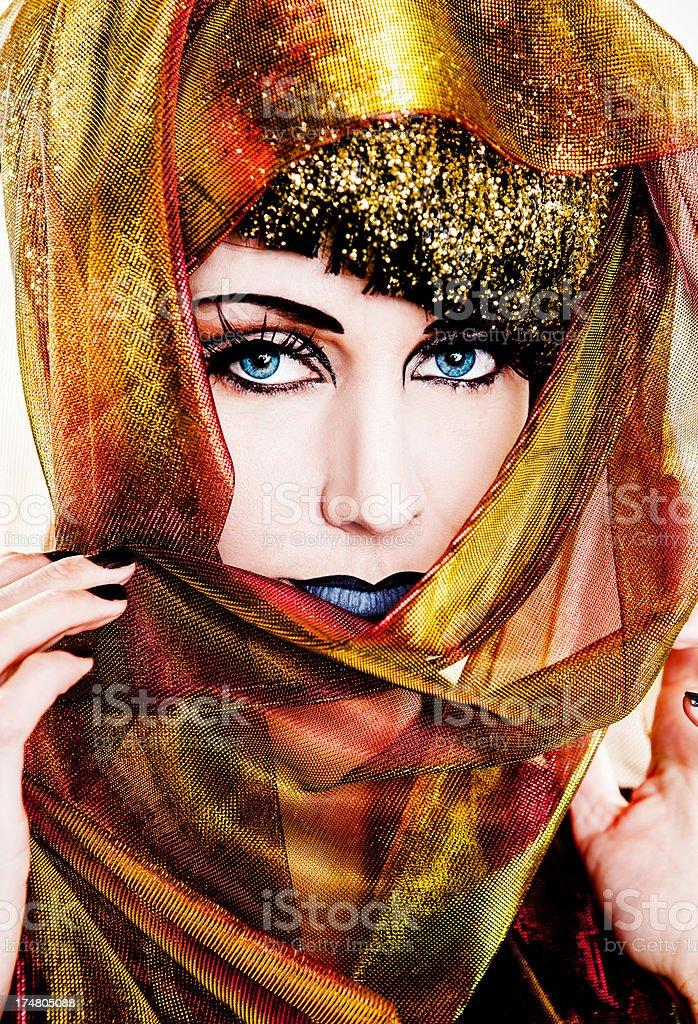 Gold Fashion royalty-free stock photo