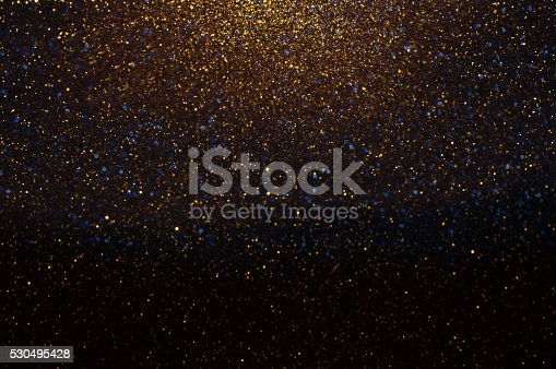 istock Gold Festive Background. Abstract Golden Christmas and New Year 530495428