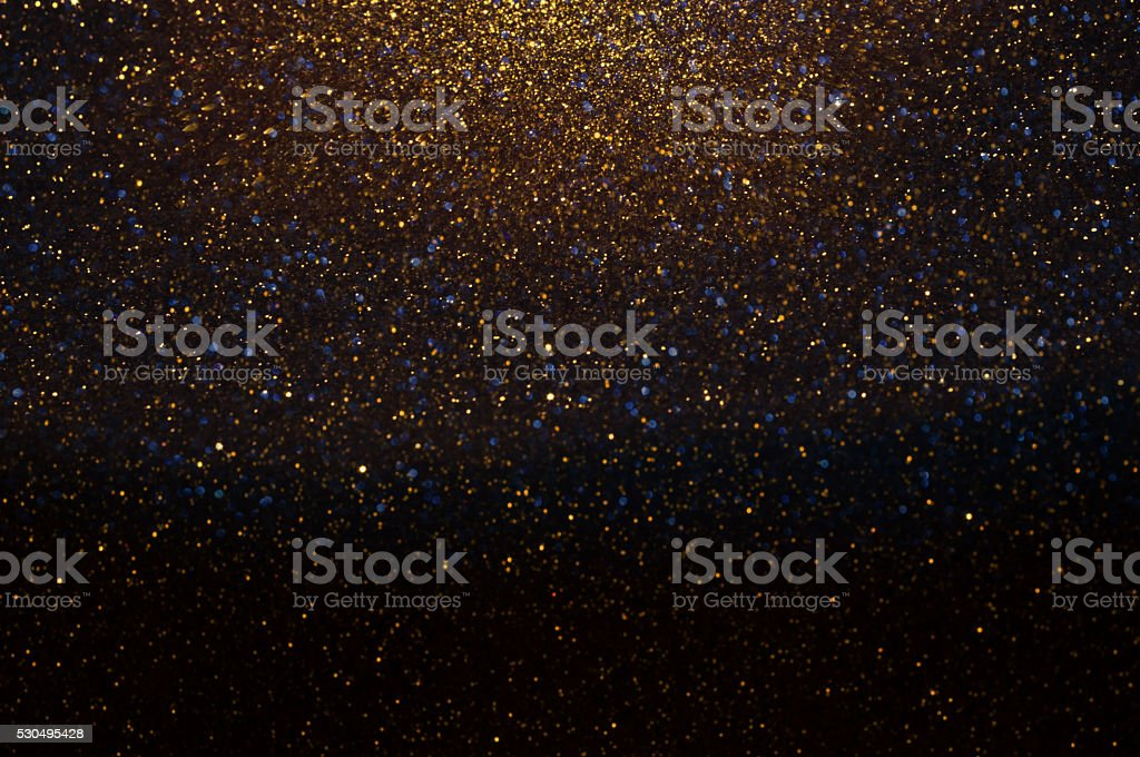Gold Festive Background. Abstract Golden Christmas and New Year stock photo