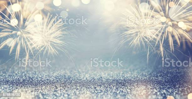 Gold fireworks and bokeh in new year eve and space for text blue picture id878876720?b=1&k=6&m=878876720&s=612x612&h=2gzyjmxqxd zq crpppcioa awvwfvsducwatif0gkc=