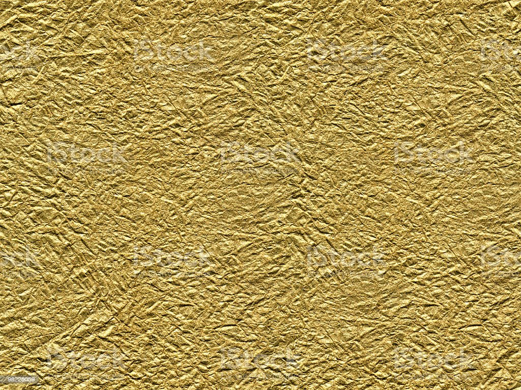 Gold Foil (Seamless Tile) royalty-free stock photo