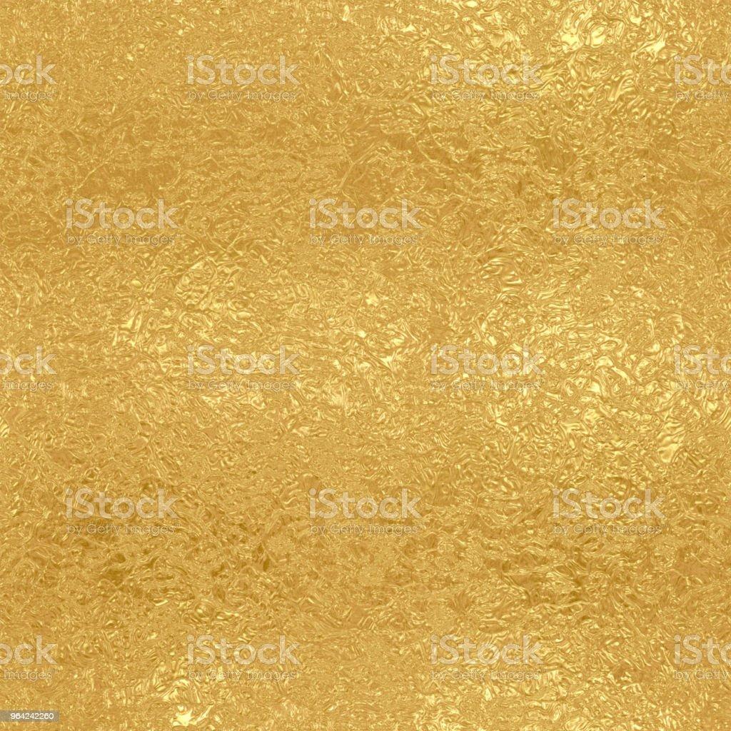 Gold foil seamless pattern stock photo