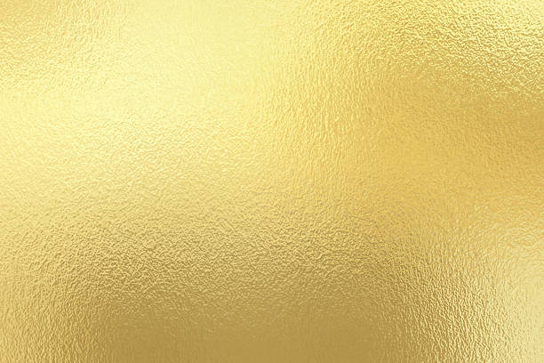 gold foil texture background - foil stock photos and pictures