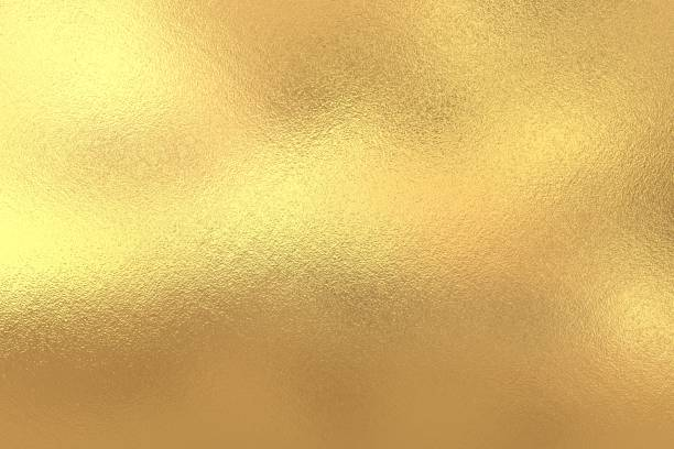 Gold foil texture background - foto stock