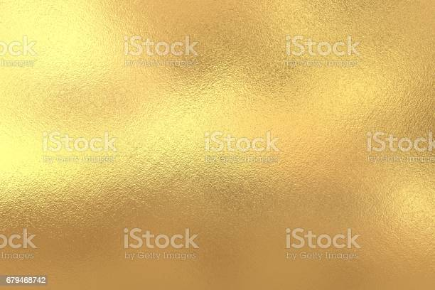 Photo of Gold foil texture background