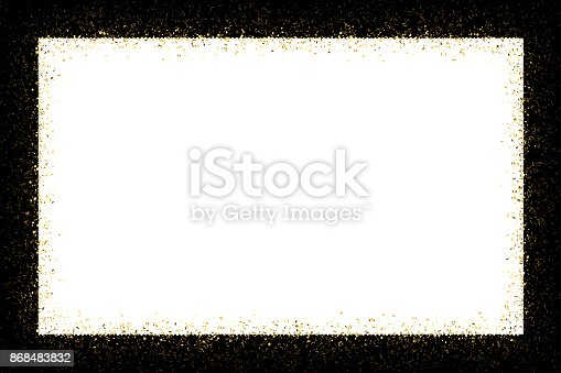 istock Gold frame 868483832