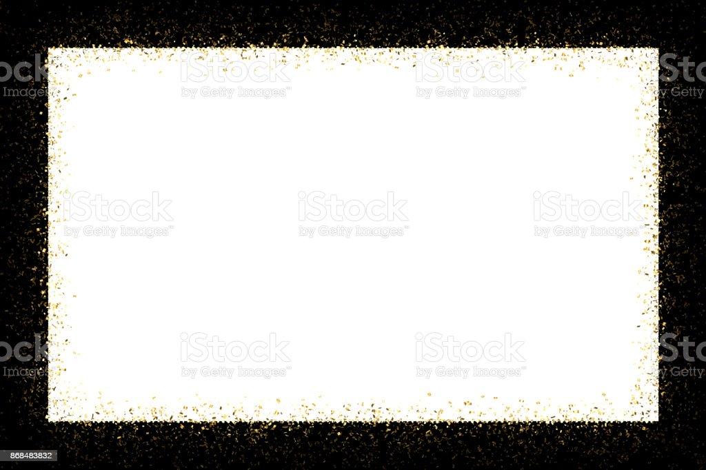 ゴールドフレーム ストックフォト