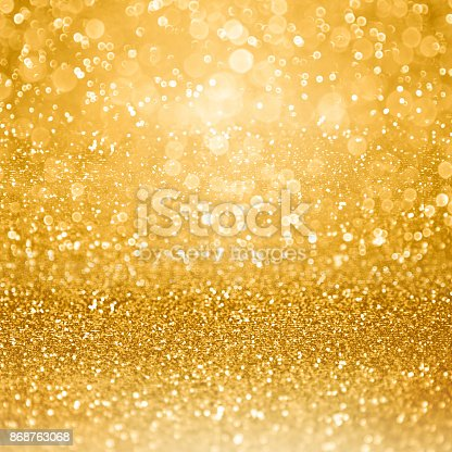 istock Gold Glam Golden Party Invitation Background 868763068