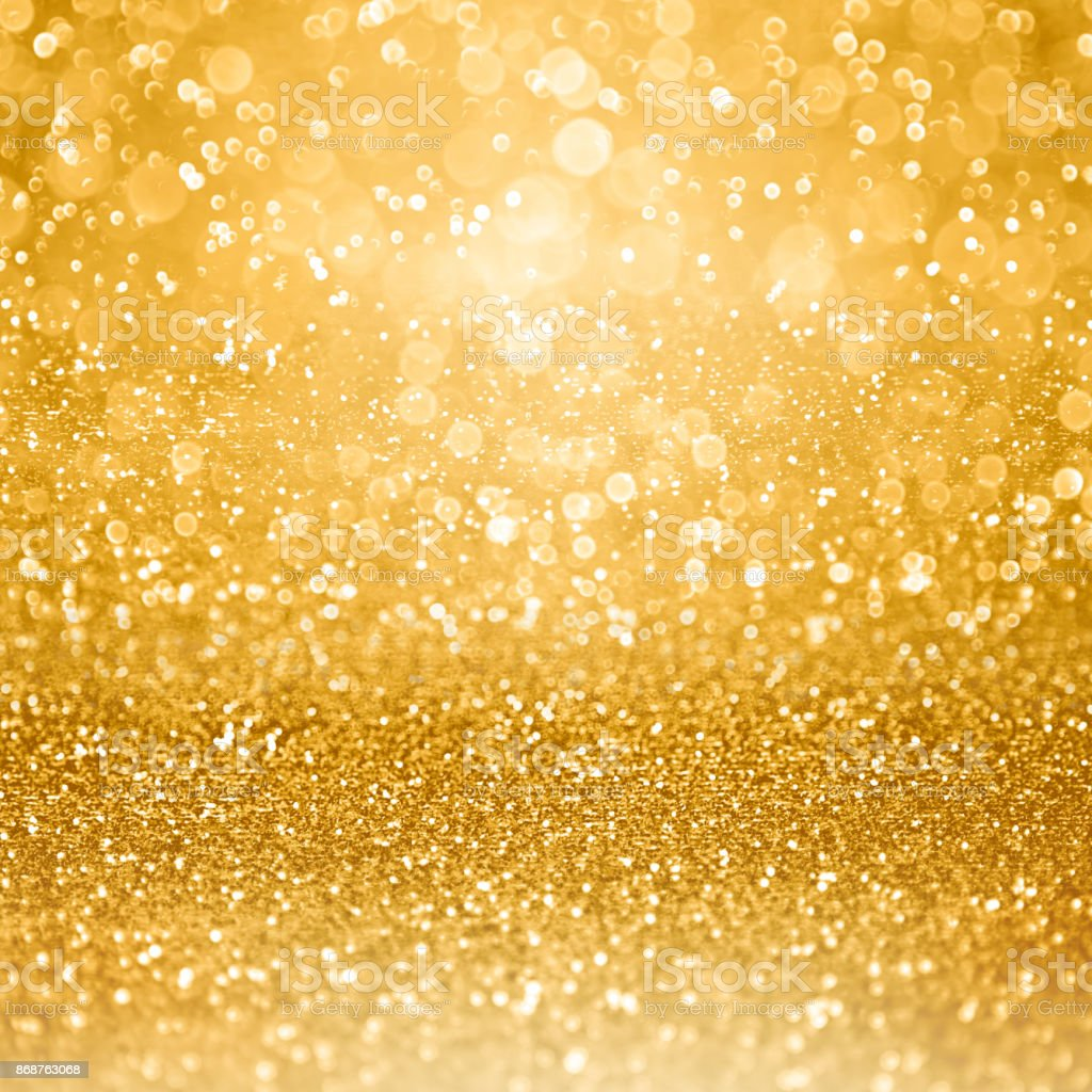 Gold Glam Golden Party Invitation Background stock photo