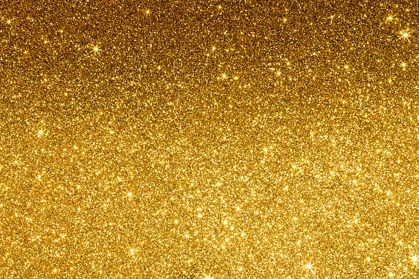 Gold Glitter Background stock photo