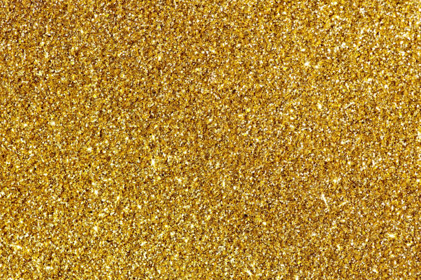 gold glitter background - scintillante foto e immagini stock