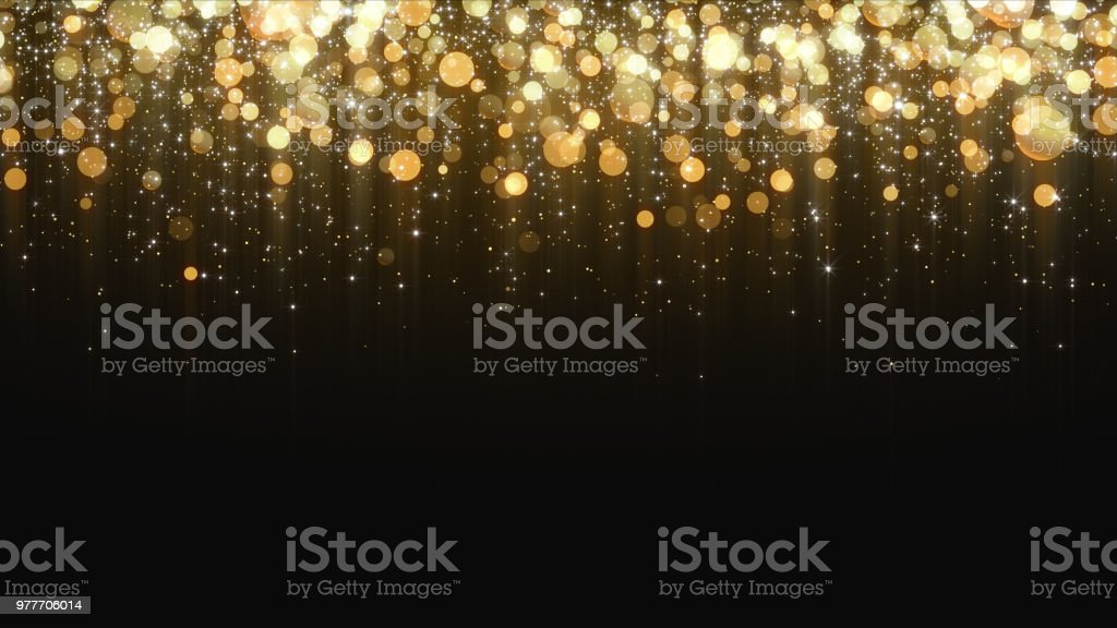 Gold Glitter Background - Royalty-free Abstrato Foto de stock