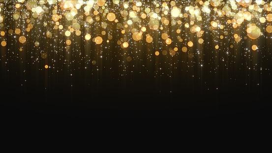 Gold Glitter Background - zdjęcia stockowe i więcej obrazów Abstrakcja