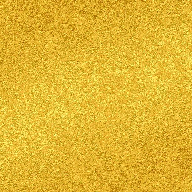 Gold glitter foil texture stock photo