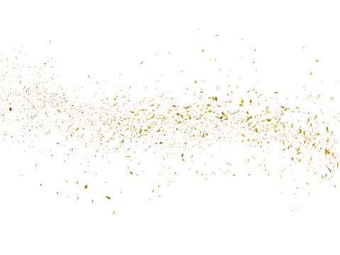 istock Gold glitter particles background 1053510428