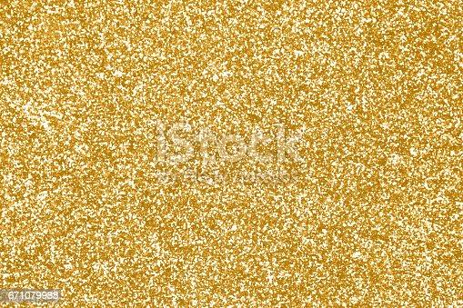 istock Gold Glitter Sparkle Texture Background 671079988