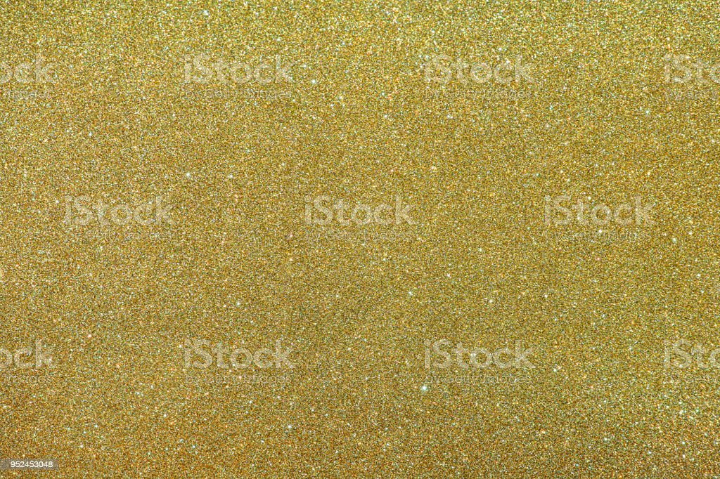 Gold Glitter Sparkle Texture Background stock photo