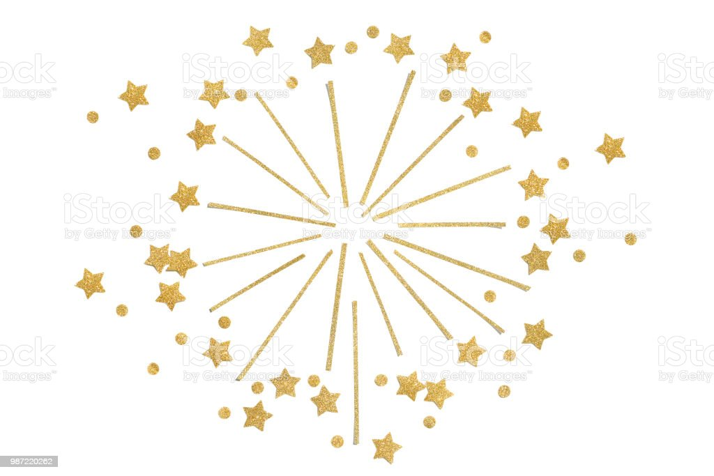gold glitter star and dot firework paper cut picture id987220262 curium dot diagram wiring diagram blog