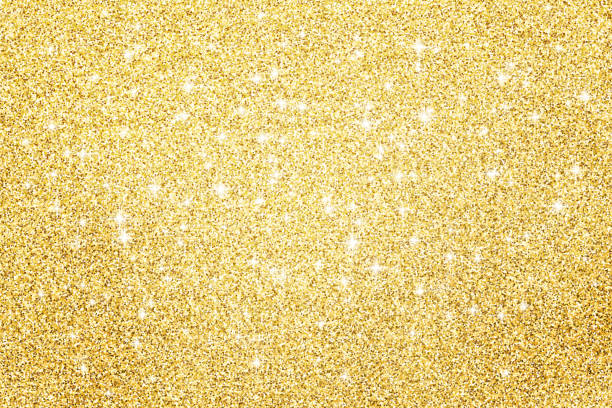Gold glitter surface background Gold glitter surface background glittering stock pictures, royalty-free photos & images