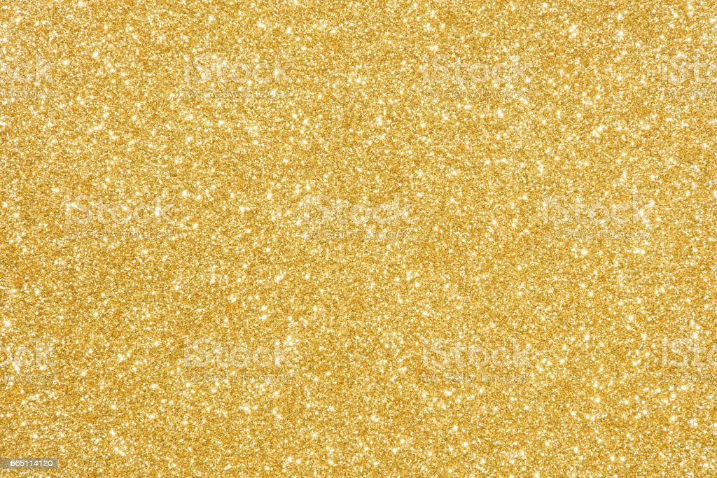 gold glitter texture abstract background – Foto