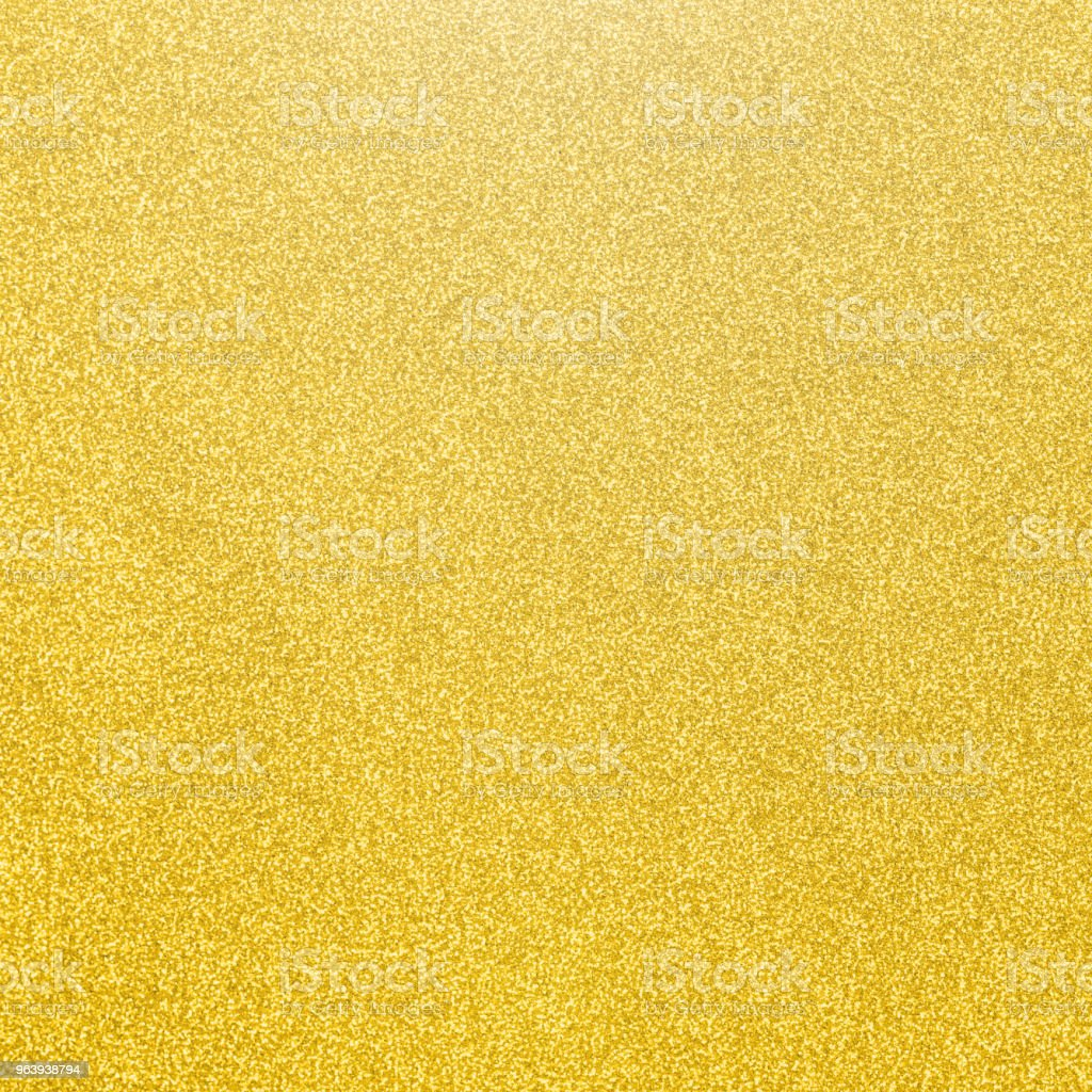 Gold glitter texture background of golden yellow hot foil leaf bright metallic Christmas holiday decoration backdrop design element - Royalty-free Alloy Stock Photo