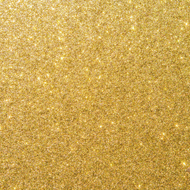 złoty brokat tekstury tle musujące błyszczący papier do pakowania na boże narodzenie sezonowe dekoracje tapety, pozdrowienia i zaproszenie ślubne element projektu karty - migoczący zdjęcia i obrazy z banku zdjęć