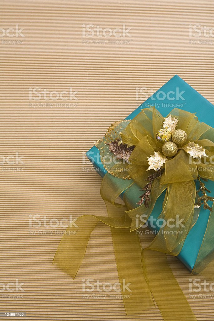 Gold Holly royalty-free stock photo